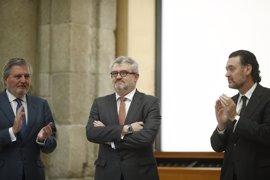 """Falomir, el """"hombre de la cantera"""" del Prado, toma posesión de su cargo como nuevo director del museo"""