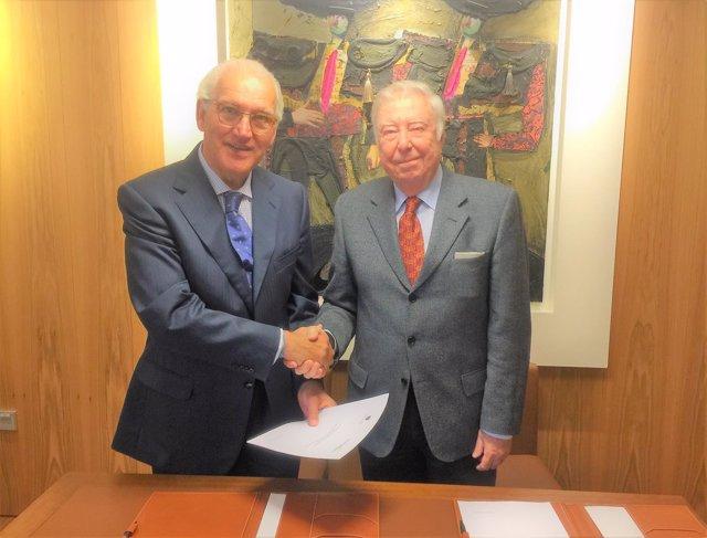Eustasio Cobreros y José Luis García Palacios.