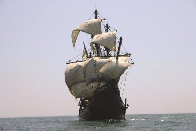 Nao Victoria réplica primer barco español dar vuelta al mundo