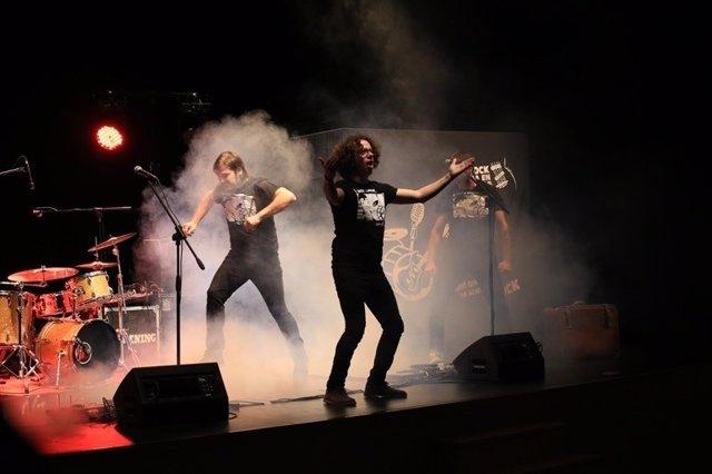 El grupo Happening, en una de sus actuaciones.