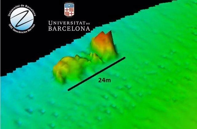 Localizan la embarcación hundida en Barcelona tras un accidente marítimo