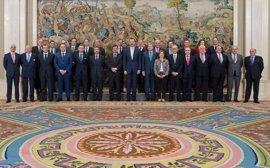 Felipe VI recibe a la Corporación Empresarial de Extremadura por su 25 aniversario