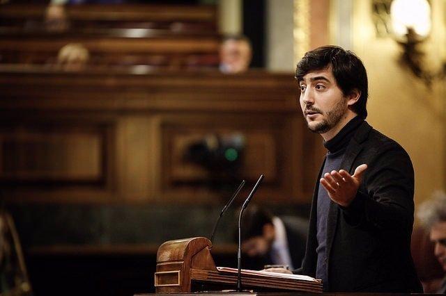 EL diputado de Ciudadanos Toni Roldán