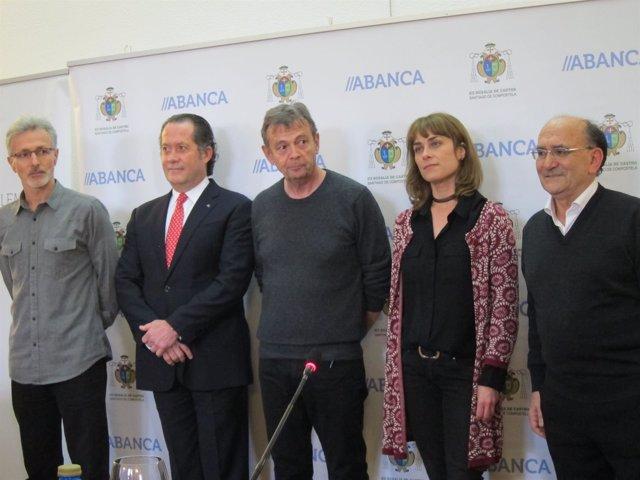 Xavier Quiroga, Juan Carlos Escotet, Pierre Lemaitre, Sara Mesa