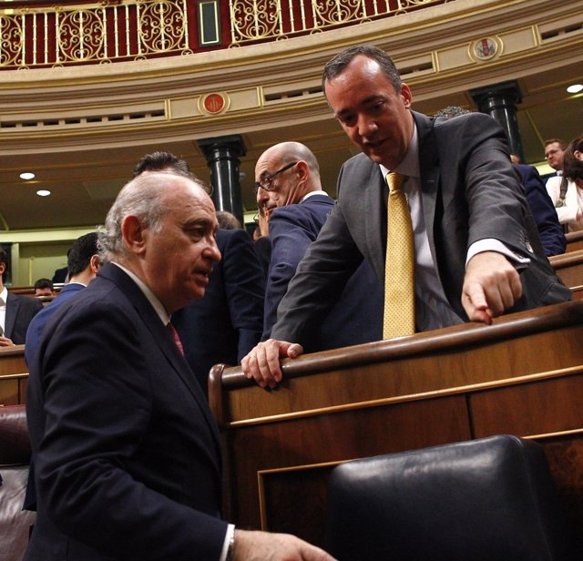 Jorge Fernández Díaz y Francisco Martínez, del PP