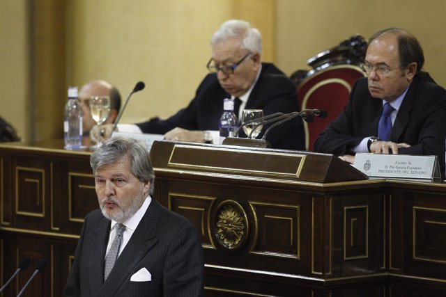 Iñigo Méndez de Vigo en el Senado