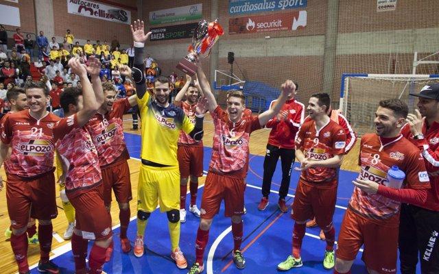 ElPozo Murcia gana la Copa Presidente RFFM