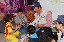 """Un joven yazidí gana el premio al """"superhéroe en la sombra"""" por su labor en Irak"""