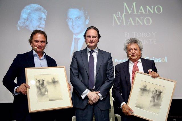 Julio Aparicio y Pansequito participan en una nueva cita de los 'Mano a mano'