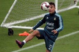 Dybala no se entrena con Argentina y es duda para medirse a Chile