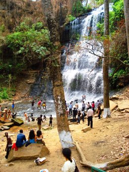 Cataratas de Kintampo, en Ghana