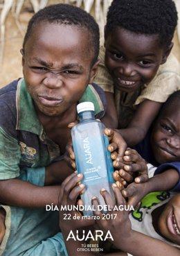 AUARA reivindica la necesidad de llevar agua limpia a millones de personas en el