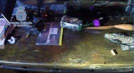 Desmantelados tres 'puntos negros' de venta de droga en Lavapiés y requisadas alrededor de 500 dosis de crack