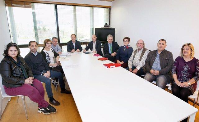 Reunión de la Comisión Consultiva de Donaciones de Navarra