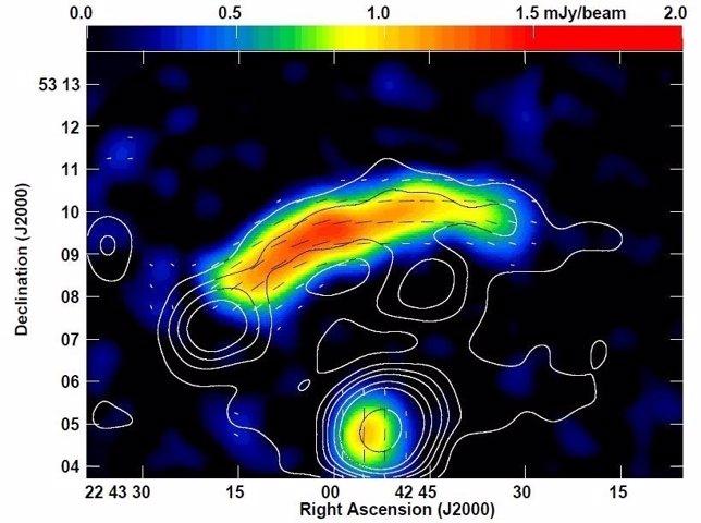 Reliquia en el confín del cúmulo galáctico