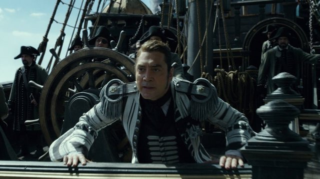 Bardem en Piratas del Caribe