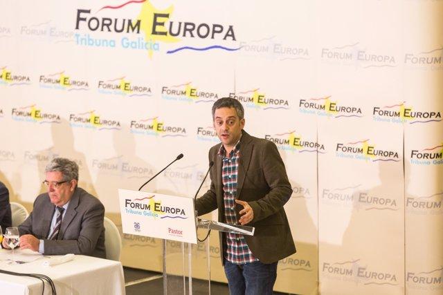 El alcalde de A Coruña en el Forum Euroa