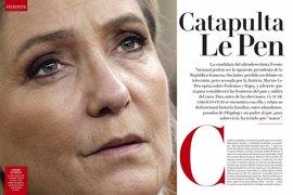 """Le Pen: """"Podemos existe porque no hay un Frente Nacional en España"""""""
