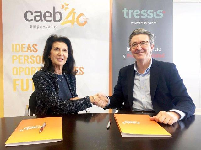 Acuerdo entre Tressis y CAEB