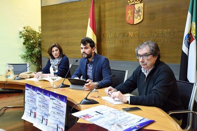 Presentación del programa 'Deportes de invierno' en Cáceres