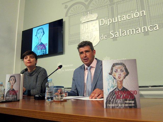 Nuria Urbano Y Julián Barrera En La Presentación.