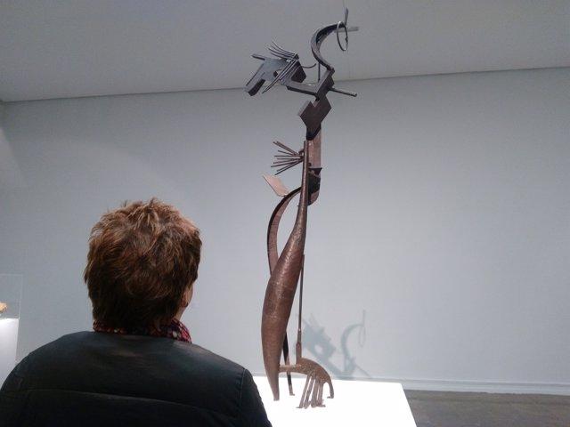 La exposición 'Las constelaciones de Julio González: entre la representación y l