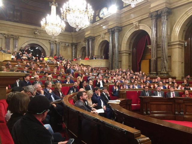 Votación del Parlament