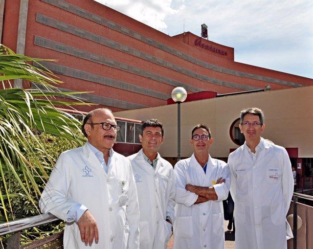 Gómez, Prieto, Rigabert y Cubillana