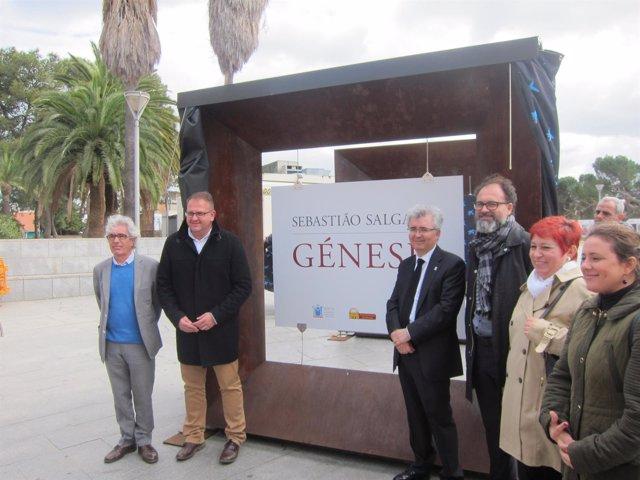 Inauguración de la muestra 'Génesis'
