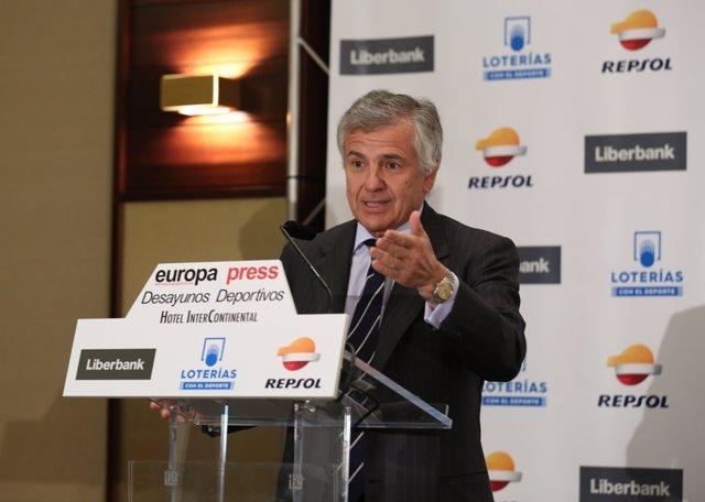 Desayuno Europa Press Deportes con Juan Antonio Samaranch Salisachs