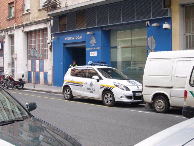 Fachada De La Comisaría De Villegas