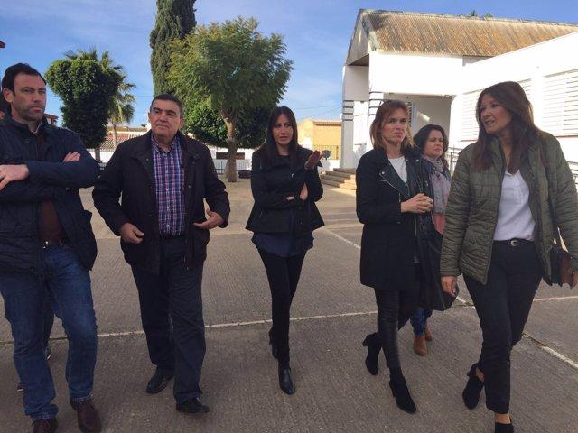 Visita al CEIP Manuel Siurot de Chucena.