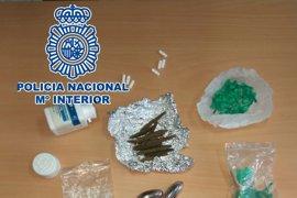 Detenidos dos hombres por tráfico de drogas en la barriada de Los Colorines en Badajoz