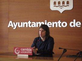 Cambia Logroño pedirá revisar el puesto de Fernández Beneite como comisario jefe de la Policía Local