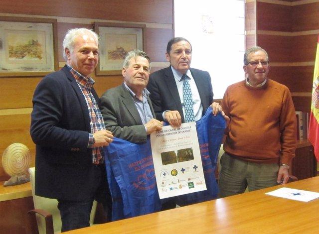 Presentación de la I Marcha Canal de Castilla por la Donación de Sangre