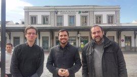 """Garzón (IU) censura la """"chapuza descomunal"""" que supone la incomunicación ferroviaria de Granada"""