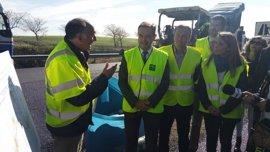 Andalucía inicia la mejora de la A-92 en La Puebla de Cazalla con una inversión de 1,85 millones