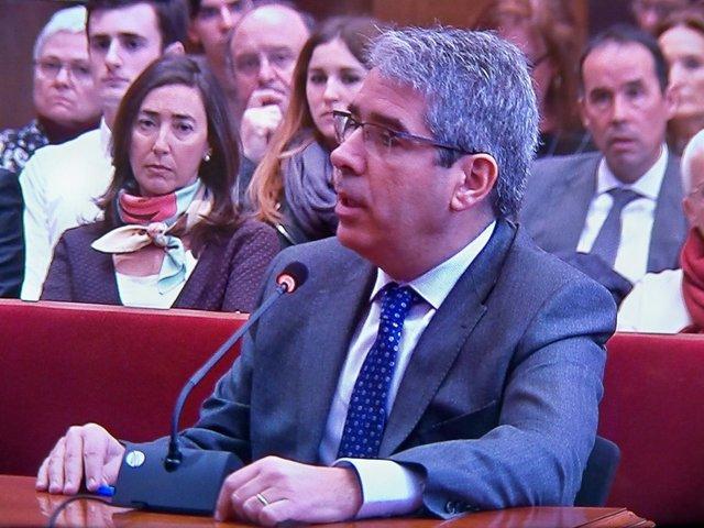 Francesc Homs declara como testigo en el juicio a Artur Mas por el 9N
