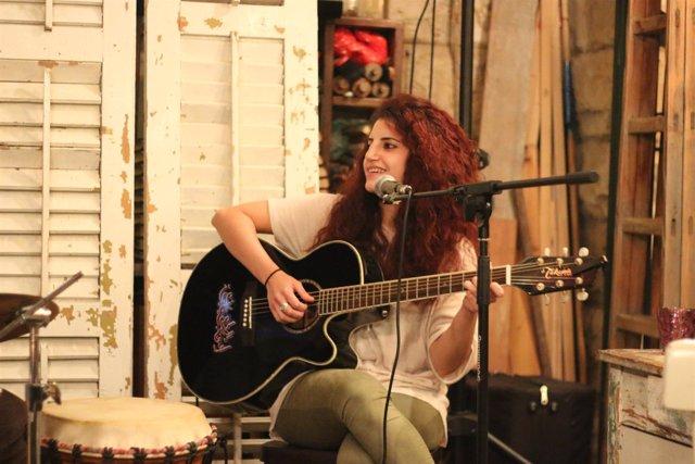 La cantautora palestina Haya Zaatry en Fundación Tres Culturas