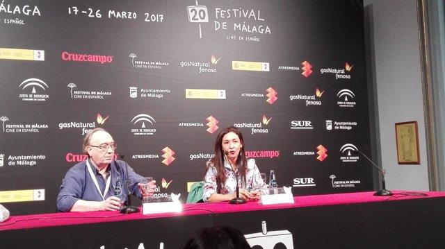 Presentación del largometraje festival de cine málaga 2017 Gilda Lorena muñoz