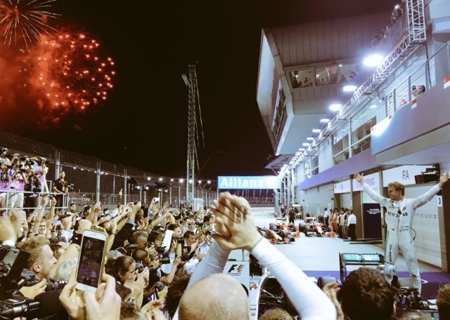 Nico Rosberg Singapur