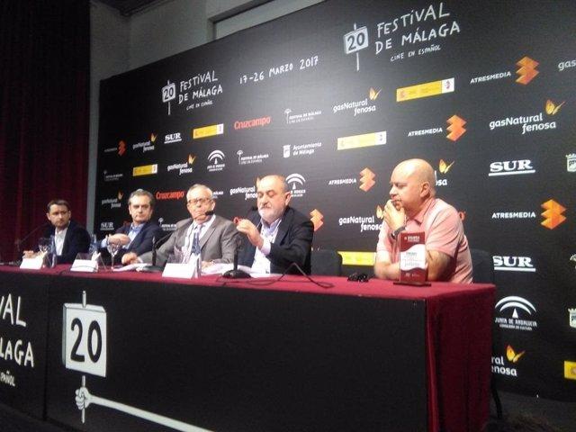 Presentación resultados datos del cine Málaga