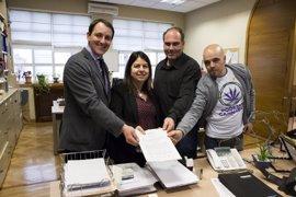 Podemos aboga en el Senado por regular el cannabis