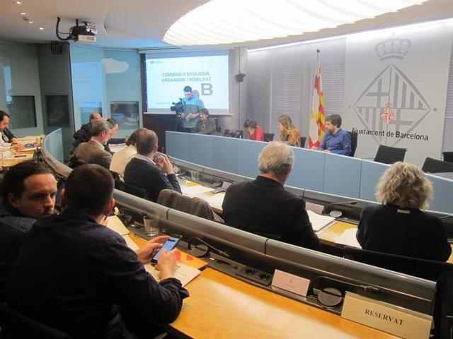 La Comisión De Ecología, Urbanismo Y Movilidad De Barcelona
