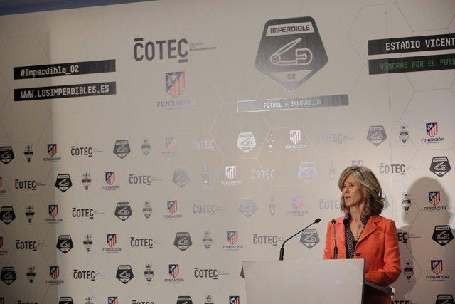 La presidenta de Cotec, Cristina Garmendia