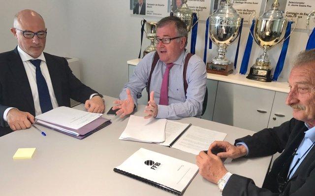Reunión del comité de la FFIB