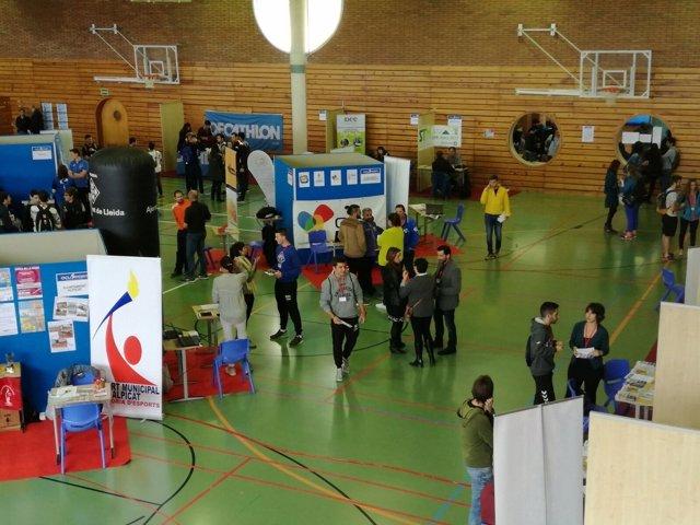 Feria Ocusport del INEF Lleida