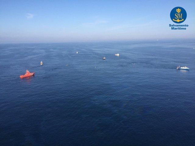 Búsqueda de los tripulantes desaparecidos en Barcelona