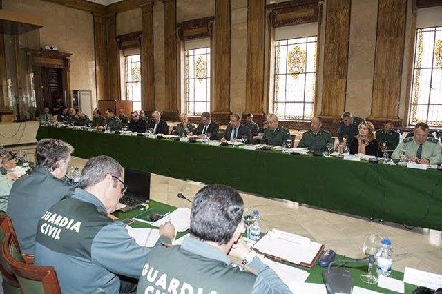 Reunión del Consejo de la Guardia Civil presidido por Juan Ignacio Zoido