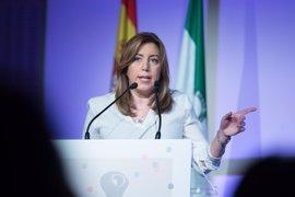 Susana Díaz expresa su solidaridad con el pueblo británico